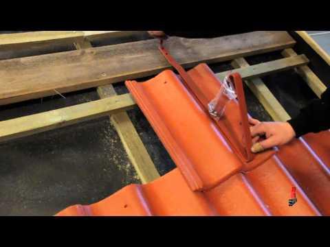 Skarpnes - Montering av snøfanger på tak