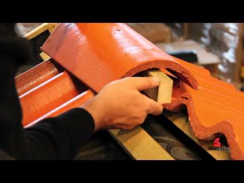 Skarpnes - Montering av møneskrubrakett