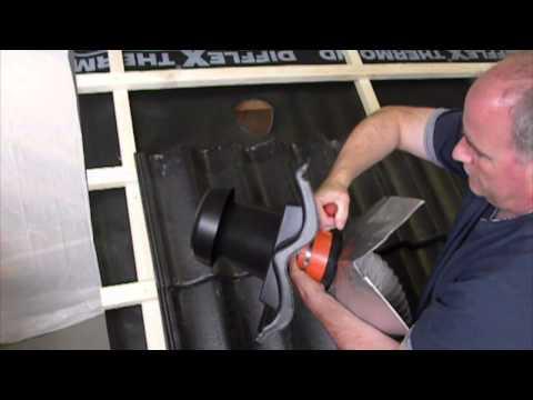 Skarpnes - Installasjon av HV110 takhatt