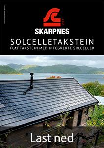 Som eneste helnorske leverandør av alt du trenger til taket, er Skarpnes produkter særlig godt tilpasset norske forhold og byggtekniske krav 1